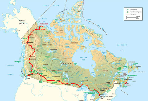 The Ultimate Canadian Winter Road Trip 2012