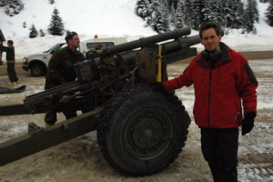 Avalanche - Rogers Pass Howitzer