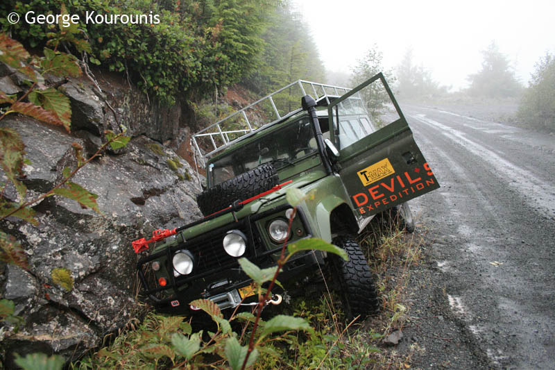 Land Rover Darien >> Caving Expedition - Vancouver Island