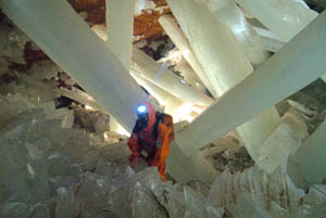 Exploring the Naica Crystal Cave in Mexico