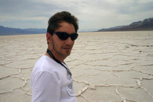 At Badwater Salt Flats - Death Valley