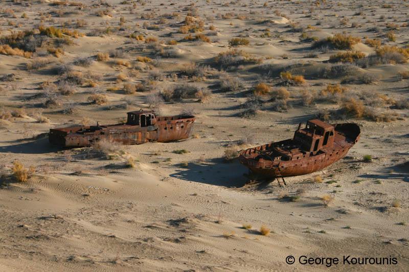Aral Sea Ecological Disaster - Uzbekistan