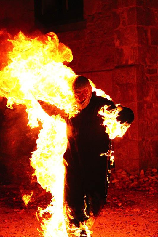 Full Body Stunt Burn