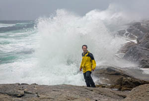 Hurricane Arthur Lashes Nova Scotia