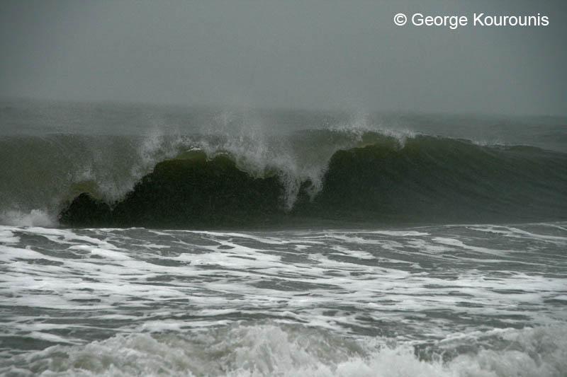 Big Waves At Myrtle Beach