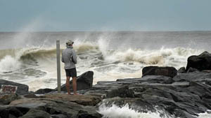 Tropical Storm Hermine - New York/New Jersey