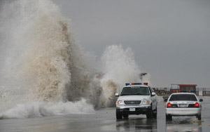 Hurricane Ike - Galveston, Texas