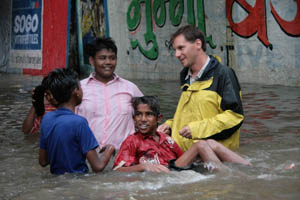 Monsoon Floodwaters - Mumbai, India