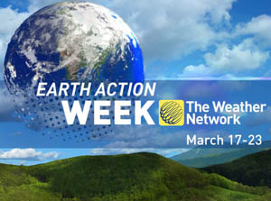 Earth Action Week on The Weather Network