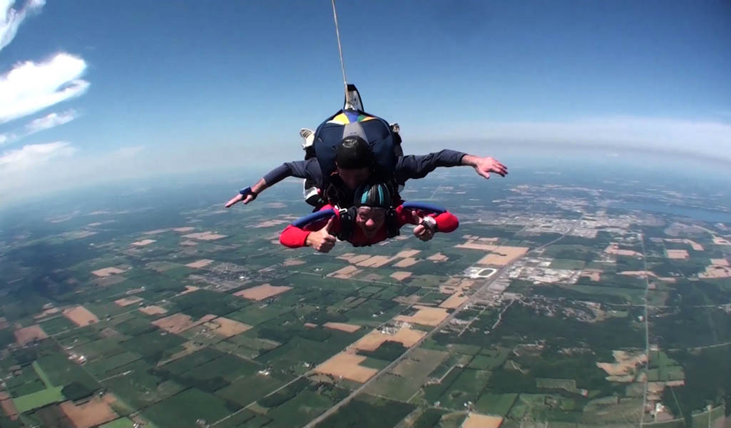 12,000 Foot Skydive