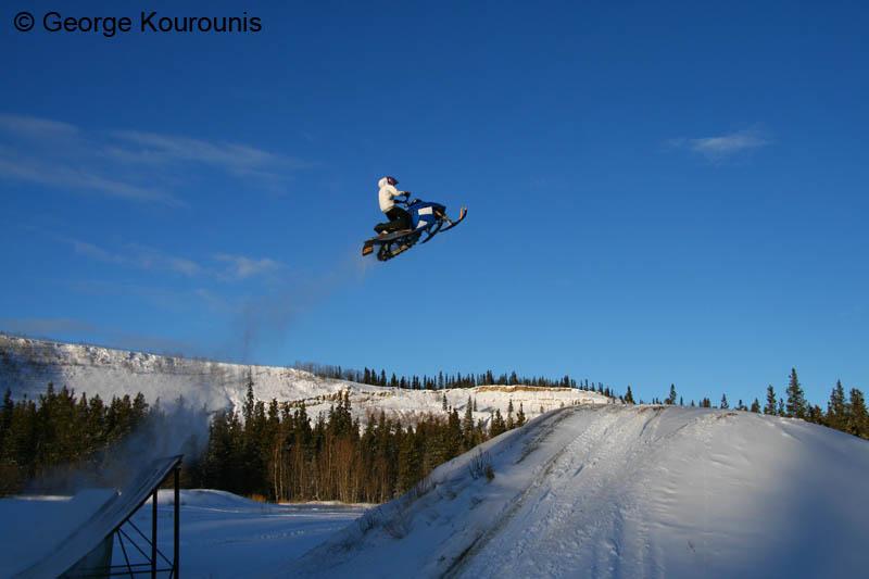 Extreme Snowmobiling - Whitehorse, Yukon