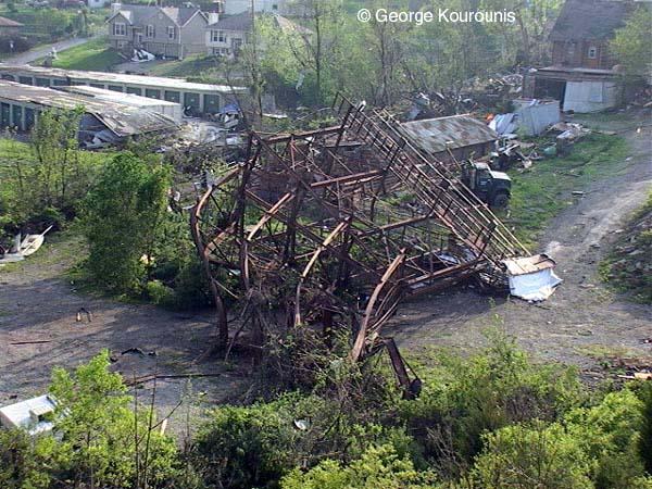Stormchaser Ca May 4th 2003 Tornado Damage