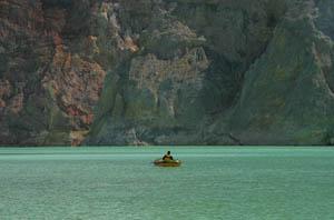 Kawah Ijen Volcano - Indonesia Boating on a Lake of Sulfuric Acid TN300_Kawah_Ijen_04