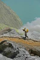 Kawah Ijen Volcano - Indonesia Boating on a Lake of Sulfuric Acid TN300_Kawah_Ijen_14