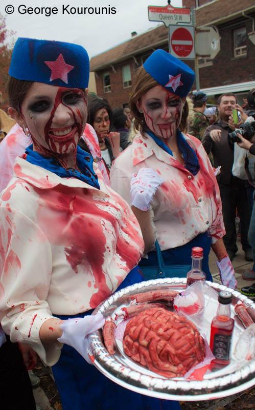 toronto zombie walk oct 22 2011